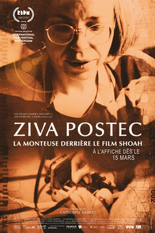 Ziva Postec.The editor behind the film Shoah (STA)